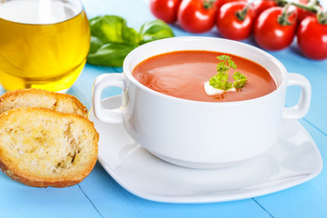 Tomato soup - Tomatensuppe