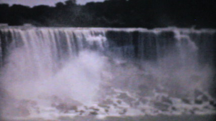 Majestic Niagara Falls-1940 Vintage 8mm film