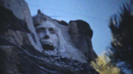 Mount Rushmore Being Built-1940 Vintage 8mm film