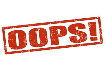 OOPS! stamp