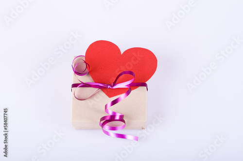 Heart and box