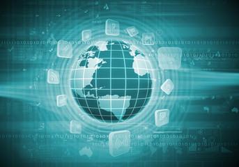 Digital globe image