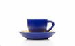 Blue Espresso Coffee Cup