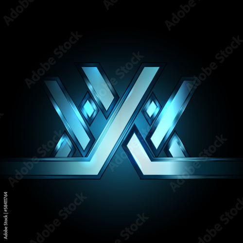 XXX abstract background