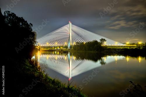Zdjęcia na płótnie, fototapety, obrazy : Redzinski bridge in Wroclaw, Poland