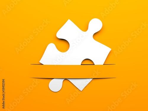 Puzzle metaphor