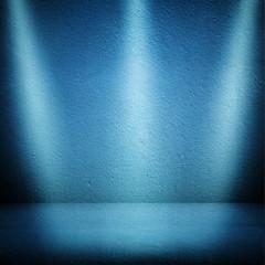 interior with spotlights