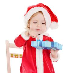 little Santa girl