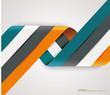 Modern spiral options banner