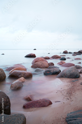 Baltic sea stones.