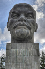 Monument to Ulyanov Lenin in Russia the city of Ulan-Ude