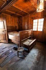 antica camera in legno - Valtellina (IT)