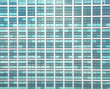 canvas print picture - Glass building