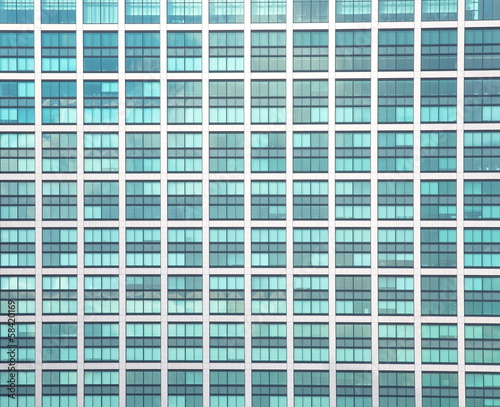 canvas print picture Glass building