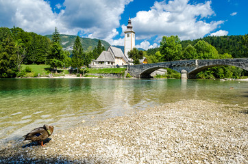 Church of St John the Baptist, Bohinj Lake, Slovenia1