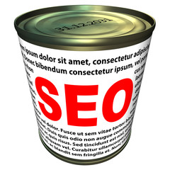 SEO (search engine optimization) - can of instant SEO
