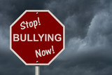 Stop Bullying Now Sign poster