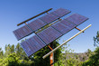 Solar panel provides energy in remote location