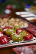 Christmas platter with appetizer