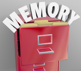 Memory Recalling Retrieving Remember File Cabinet