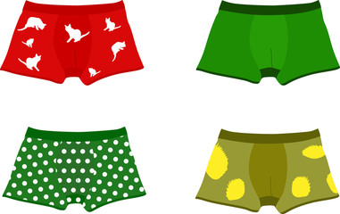 Set of men's underpants