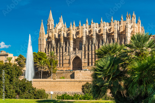 "canvas print picture Kathedrale ""La Seu"" - Palma de Mallorca - 6676"