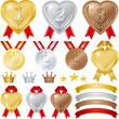 メダル・ハート・王冠