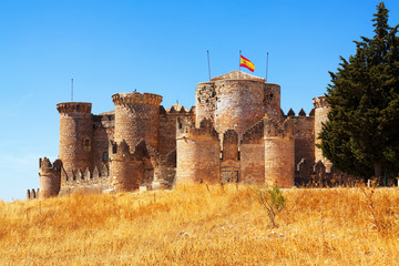 Mudejar castle in Belmonte