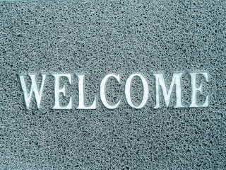 popular metal texture pattern text welcome