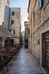 Split. Ruins of Diocletian's palace - old town