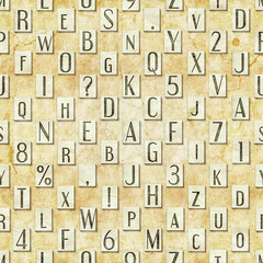 letter seamless texture