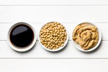 Sos sojowy, soja i mięso sojowe