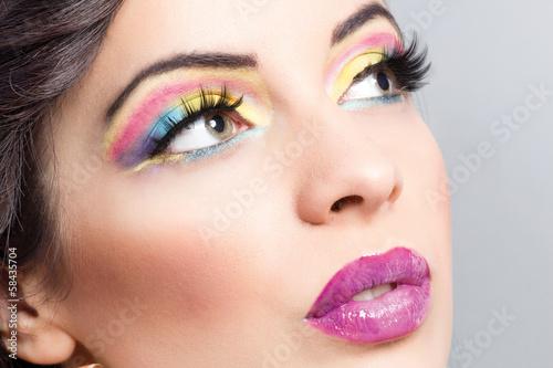 Fototapeten,kunst,gestalten,makeup,auge
