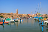 Old harbor. Acre, Israel.