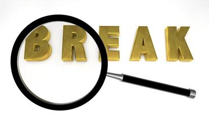 break,search
