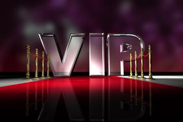 VIP - Seil - Roter Teppich