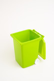 cassonetto verde - isolated recycling green container