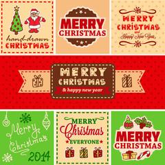 vector vintage christmas