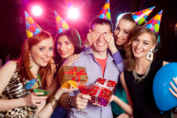 birthday party at nightclub