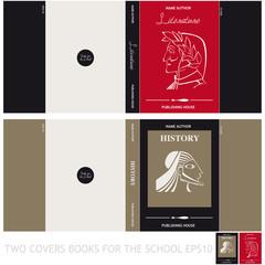 Copertine per libri di letteratura e di storia