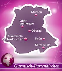 Garmisch-Partenkirchen Abstrakter Hintergrund