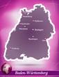 Baden-Wuerttemberg Abstrakter Hintergrund