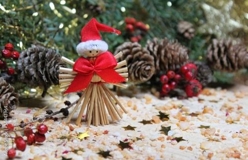 weihnachtsdeko aus naturmaterialien von goldbany lizenzfreies foto 58443964 auf. Black Bedroom Furniture Sets. Home Design Ideas