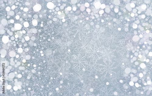Vector silver background for Christmas design.