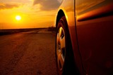 Car Sunset - 58445549