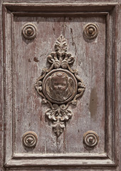 detail of a old doorin dubrovinik