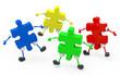 Die Puzzlefiguren