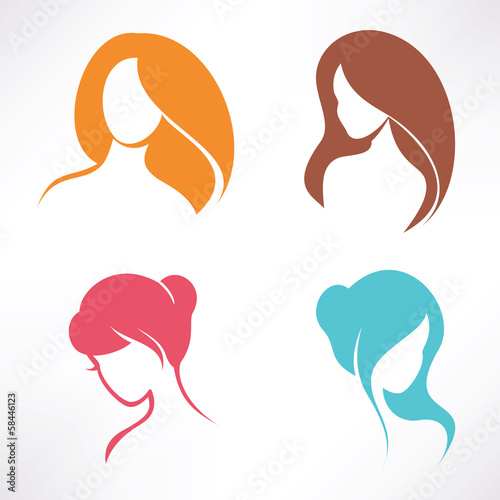 haircut icons set