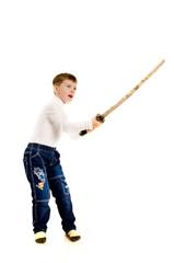 Мальчик с мечом
