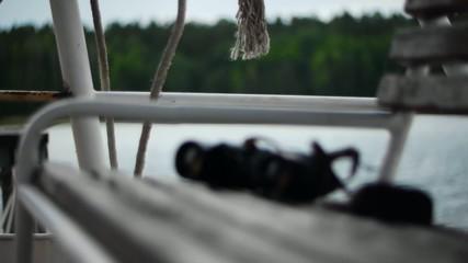 Binoculars bench